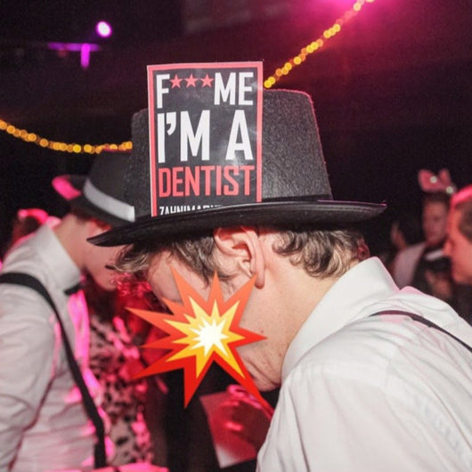 F*** ME I'M A DENTIST-STICKER | 20x