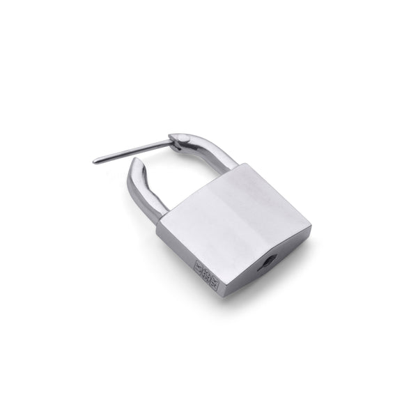 SMALL PADLOCK EARRING