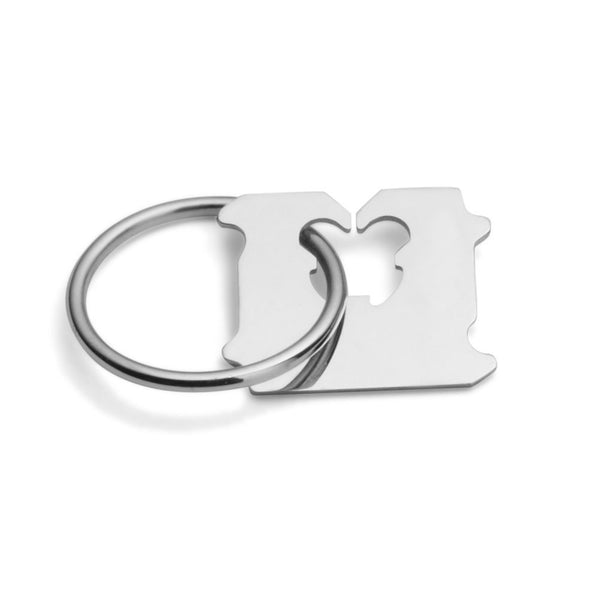 STERLING SILVER BREAD CLIP RING