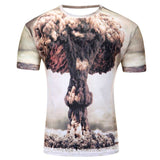 new galaxy space 3D t shirt   for men