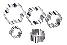 Ghidini Flower-shaped Cookie Cutter Set (5 pcs) \ 2043
