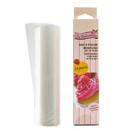 GP&me La Dolcetteria Disposable Pastry Bags (24 Pcs) / 5210