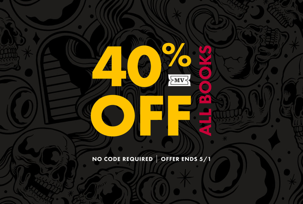 40% OFF ALL BOOKS!