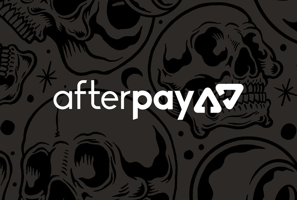 Now offering Afterpay!