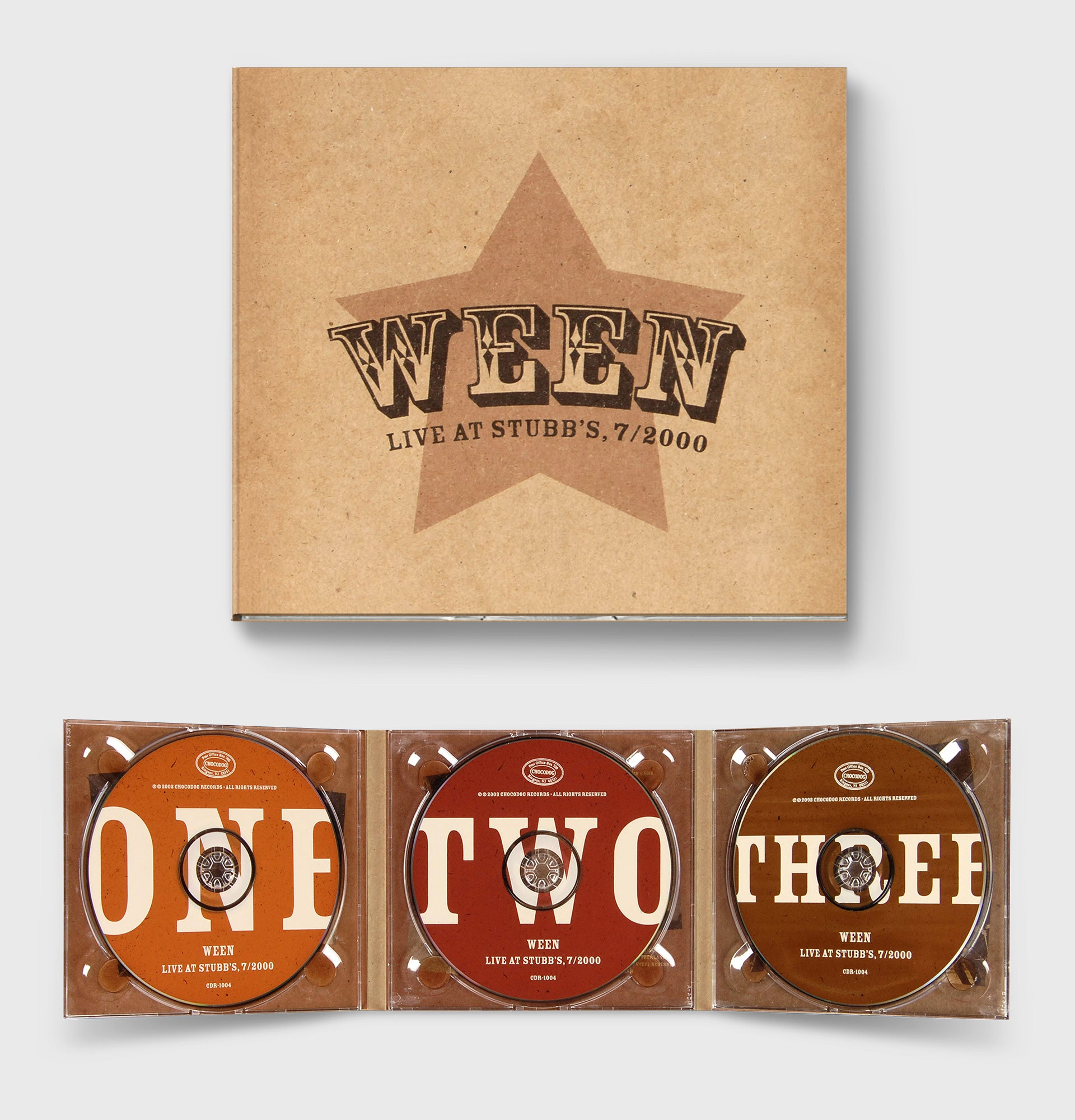 Ween 'Live at Stubb's, 7/2000'