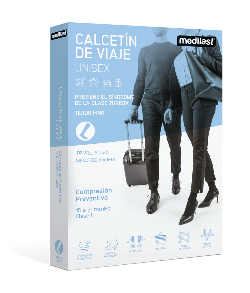 Calcetín Travel de Compresión Preventiva - Medilastshop