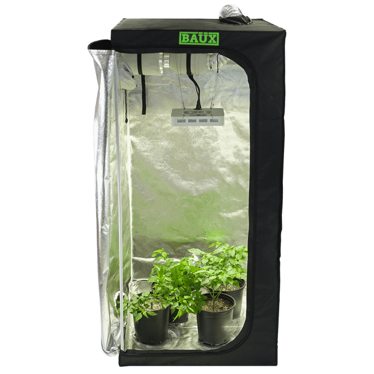 Baüx Industries 2' x 4' Hydroponics Grow Tent Kit - Trimleaf Canada