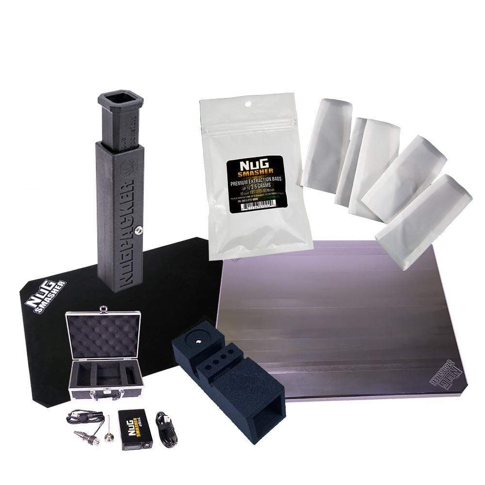 NugSmasher Pro Rosin Press Accessory Kit - Trimleaf Canada