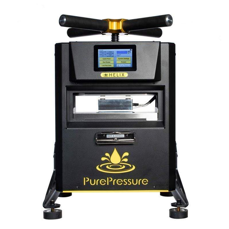 Pure Pressure Helix 3 Ton Rosin Press - Trimleaf Canada