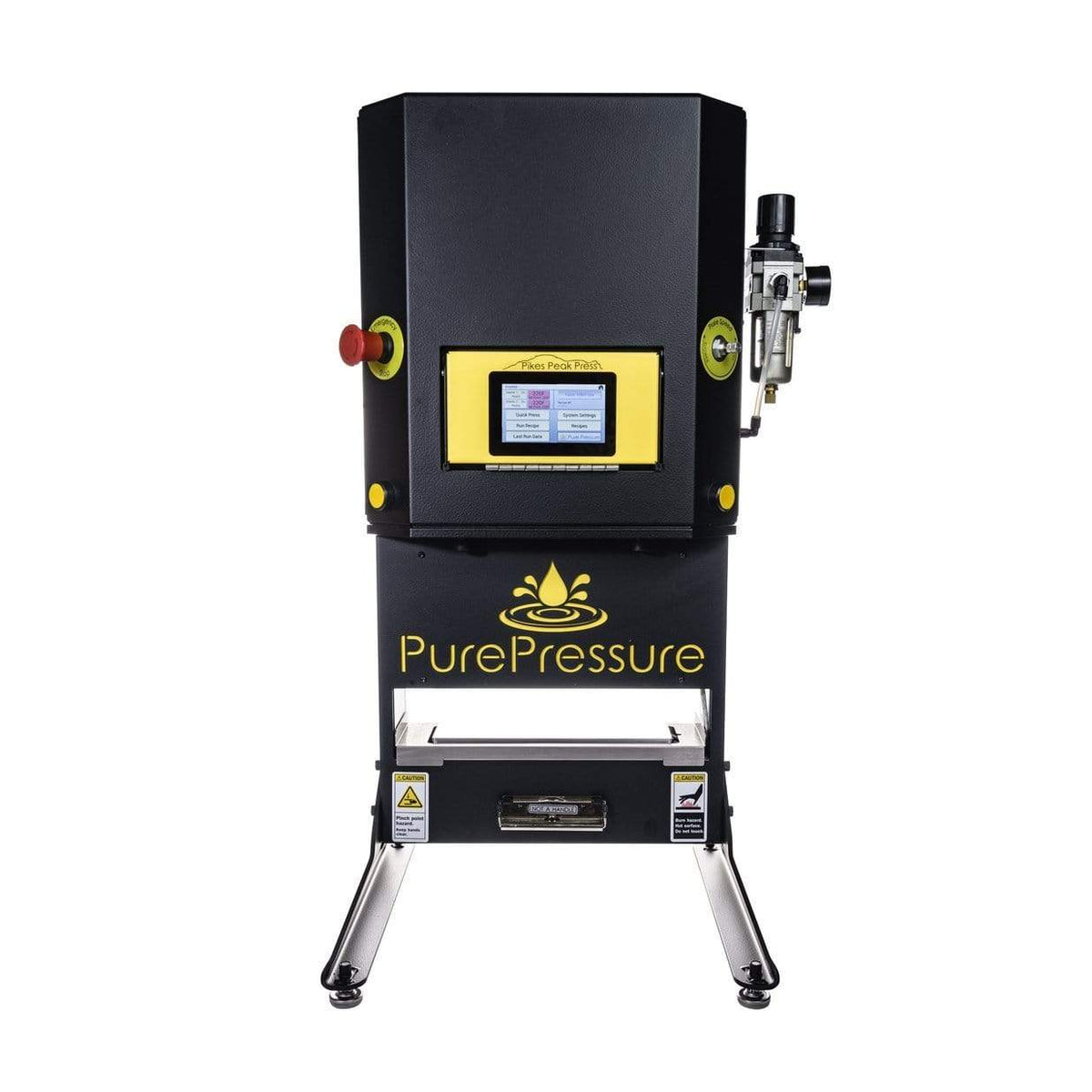 Pure Pressure Pikes Peak V2 5 Ton Rosin Press - Trimleaf Canada
