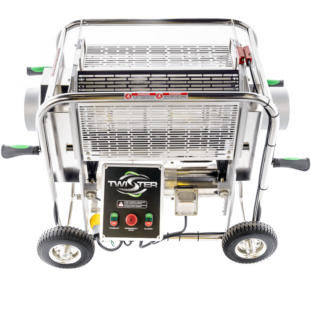 Twister T2 Wet & Dry Bud Trimmer Machine - Trimleaf Canada