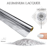 Aluminum Nail Polish - MINE Luxury Nail Lacquer