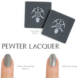 Pewter Lacquer Nail Buffers - MINE Luxury Nail Lacquer