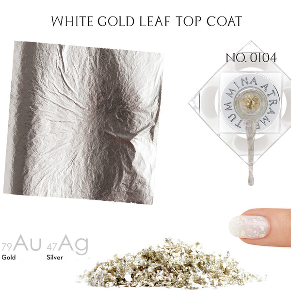 White Gold Nail Polish - MINE Luxury Nail Lacquer