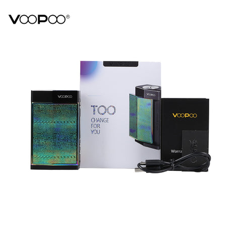 VooPoo Too 180W Mod Kit with UFORCE 3.5ml Tank - Black Frame