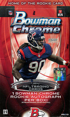 2014 Bowman Chrome Football Personal Hobby Box
