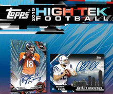 2015 Topps High Tek Football Personal Hobby Box