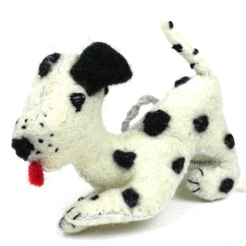 Dalmatian Felt Ornament - Silk Road Bazaar (O)
