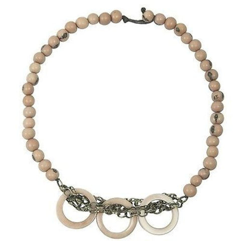 Circle Chain Choker in Sugar Pink - Faire Collection