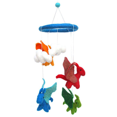 Felt Dragon Mobile -