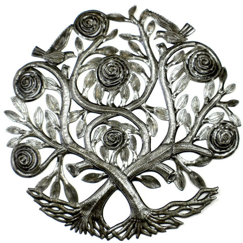 Flowering Double Tree Wall Art - Croix des Bouquets