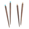 Rosewood Jewel Hair Pins (Set of 4) - Matr Boomie (A)