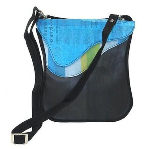 Upcycled 'Breeda New Wave' Bag - Conserve