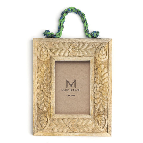 Sari Mango Hanging Frame - Rectangle - Matr Boomie (P)
