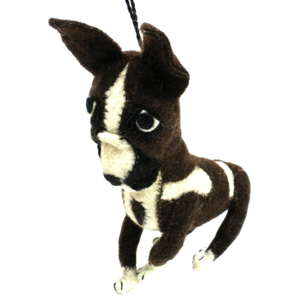 Felt Boxer Ornament - Silk Road Bazaar (O)