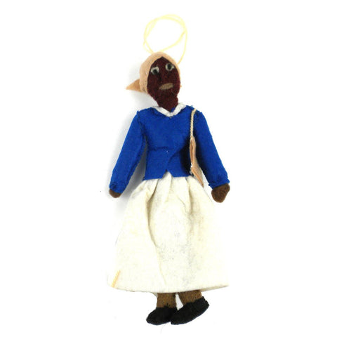 Harriet Tubman Felt Ornament - Silk Road Bazaar (O)