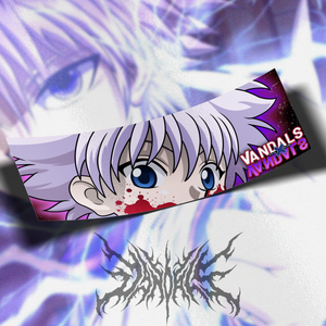 Bloody Killua Zoldyck Slap