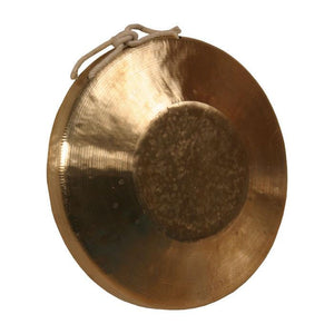 "The Gong Shop Opera Gongs 09"" Hand Opera Gong with Beater Low Pitch"