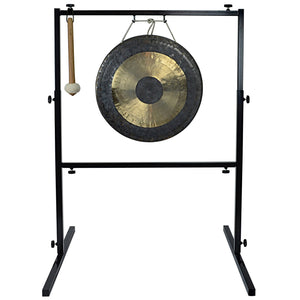 "The Gong Shop Featured Products 18"" Chau Gong on Wuhan Gong Stand with Mallet"