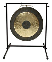 "24"" Chau Gong on Chronos Metal Gong Stand with Mallet"