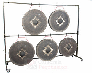 The Gong Shop Tuned Thai Gongs Tuned Thai Gongs Chromatic Set C2-B2