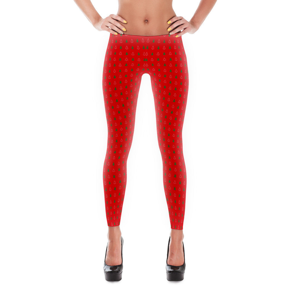 f5adf7b9c098ad Christmas Tree Leggings - Frith Apparel - comfortable, soft, custom, t-shirt
