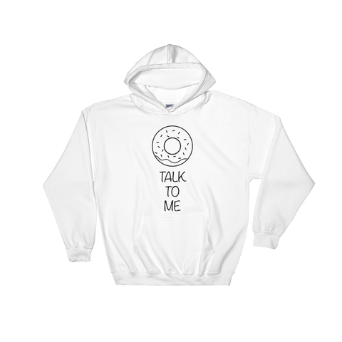 Donut talk to me - Frith Apparel - comfortable, soft, custom, t-shirt, tshirt, funny