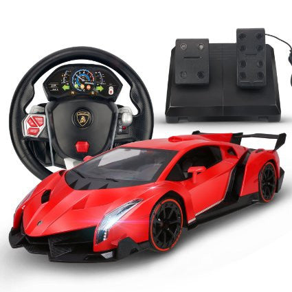 control veneno silver color sensor large experience holy gravity stone driving rc model radio products realistic vehicle diecast scale lamborghini car