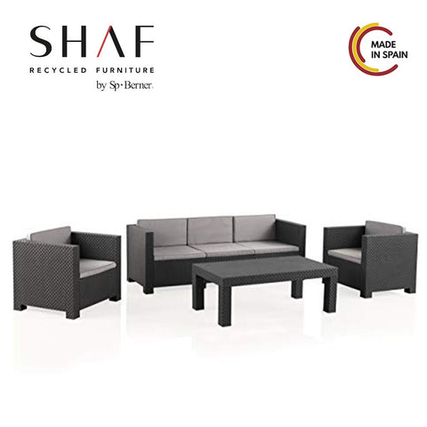 4 pc Patio Sofa Set