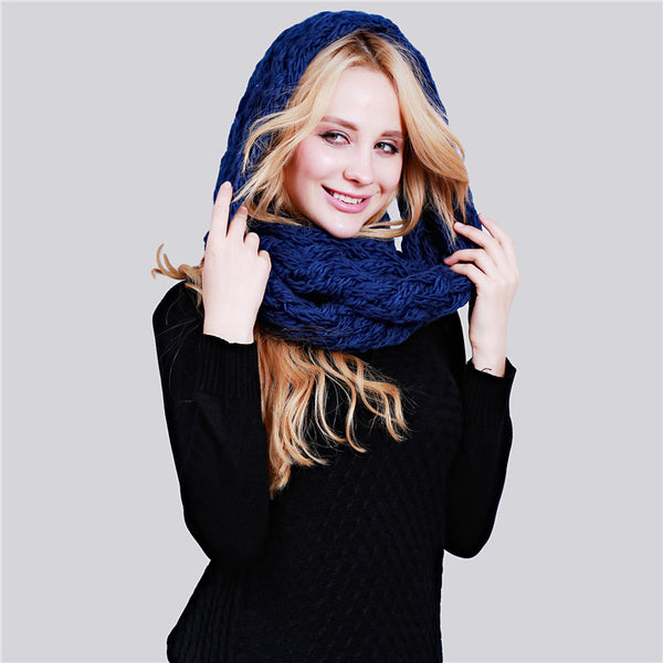 WInter Warm Infinity Scarf