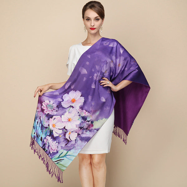 2017 Hot Selling Silk Scarves - 11 Unique Style!