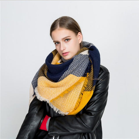 Winter Luxury Cashmere Scarf