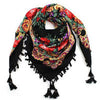 Big Square Scarf Printed Women Brand Wraps
