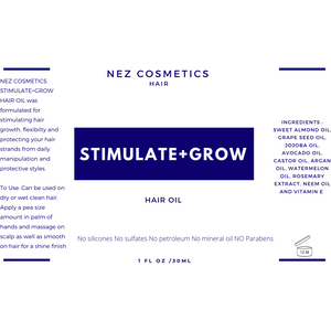 Stimulate+Grow Hair Oil