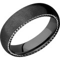 *In Stock* Black Zirconium Band