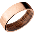 *In Stock* Rose Gold & Wood Band
