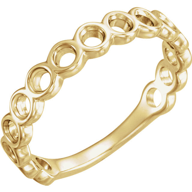 *In Stock* Circle Stackable Band