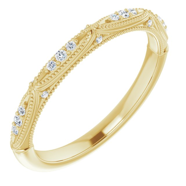 Genevieve Diamond Wedding Band
