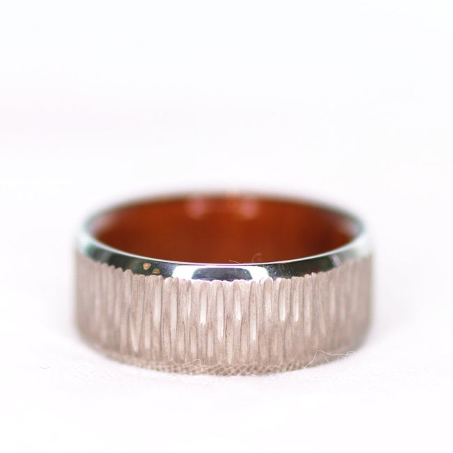 *In Stock* Titanium & Wood Band