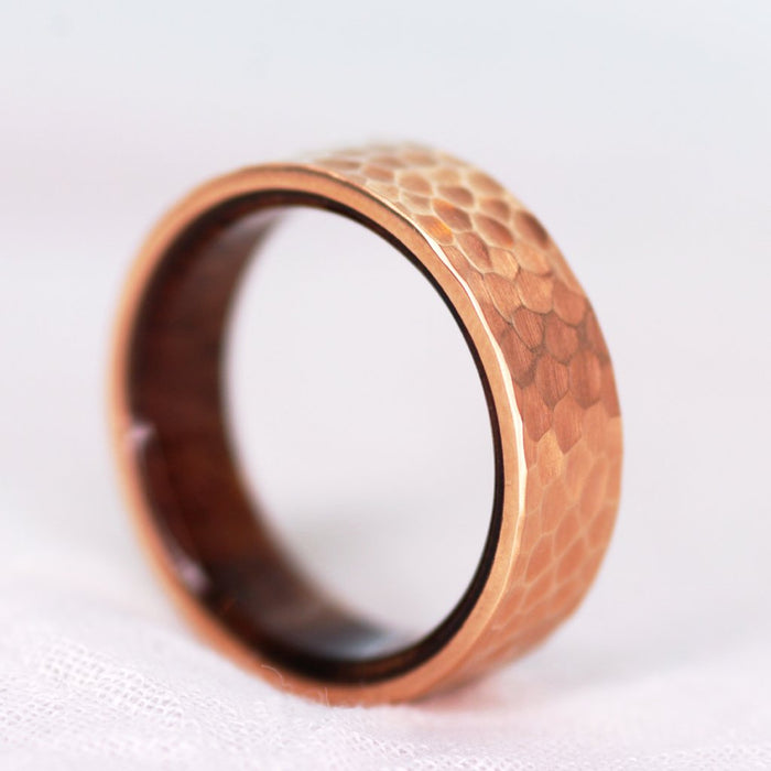 *In Stock!* Rose Gold & Wood Band